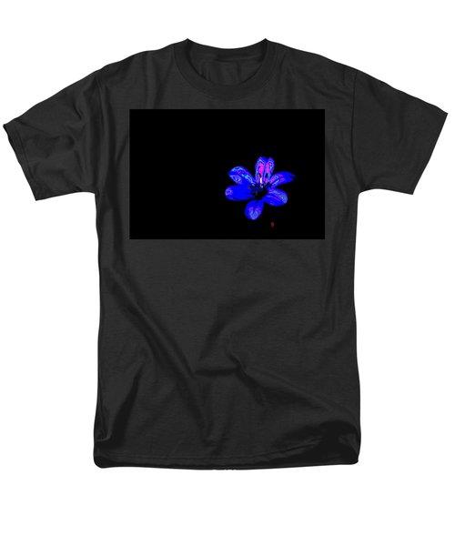 Night Blue Men's T-Shirt  (Regular Fit) by Richard Patmore