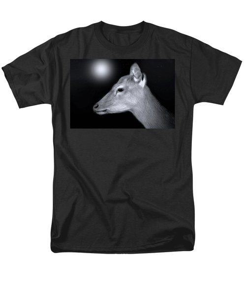 Men's T-Shirt  (Regular Fit) featuring the photograph Night Doe by Marion Johnson