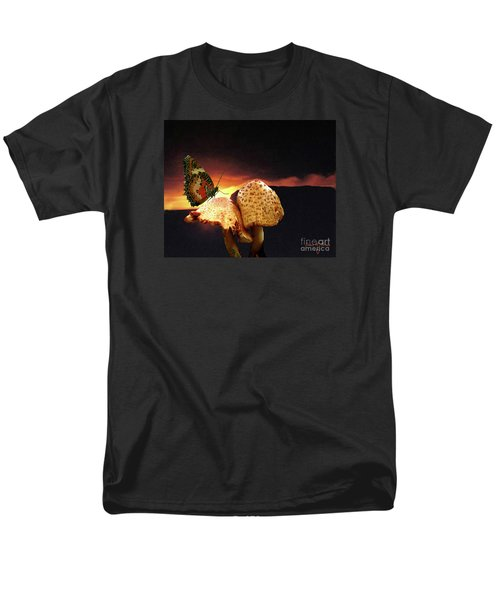 Men's T-Shirt  (Regular Fit) featuring the photograph Night Fall by Donna Brown