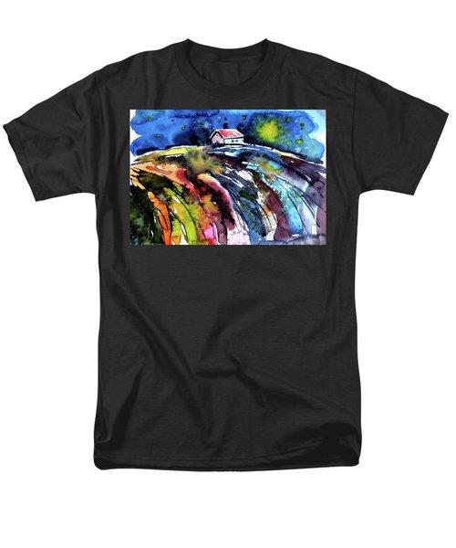 Night Men's T-Shirt  (Regular Fit) by Kovacs Anna Brigitta