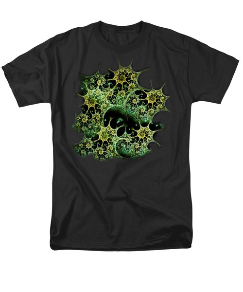 Night Lace Men's T-Shirt  (Regular Fit) by Anastasiya Malakhova