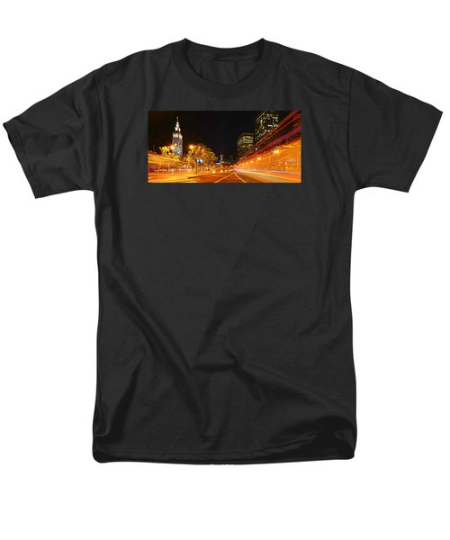 Night Trolley On Time Men's T-Shirt  (Regular Fit)