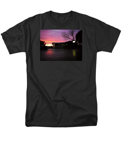 Men's T-Shirt  (Regular Fit) featuring the photograph Nightfall by Adria Trail