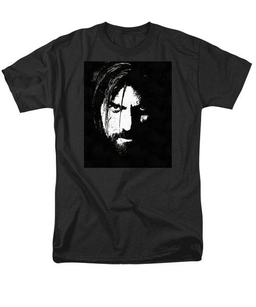 Nikolaj Coster-waldau  Men's T-Shirt  (Regular Fit) by Sergey Lukashin
