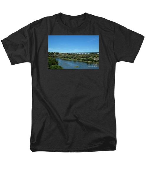 Men's T-Shirt  (Regular Fit) featuring the photograph Niobrara River by Mark McReynolds