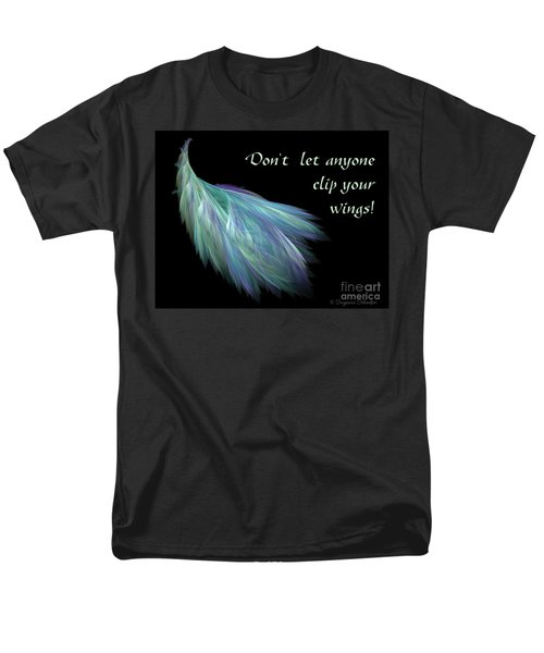 Wings Men's T-Shirt  (Regular Fit) by Suzanne Schaefer