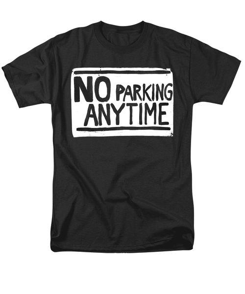 No Parking Men's T-Shirt  (Regular Fit)