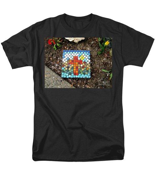 No Stepping Stone Men's T-Shirt  (Regular Fit)