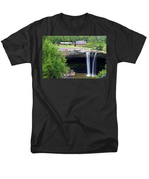 Noccolula Falls Gadsden Alabama Men's T-Shirt  (Regular Fit) by Kathy Clark