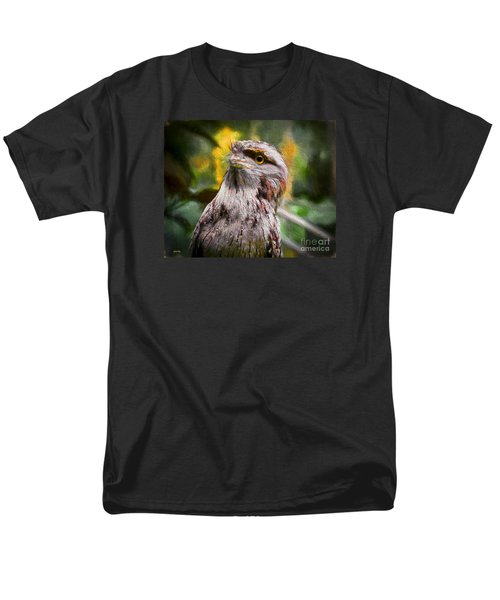 Men's T-Shirt  (Regular Fit) featuring the painting Nocturnal Beauty by Judy Kay