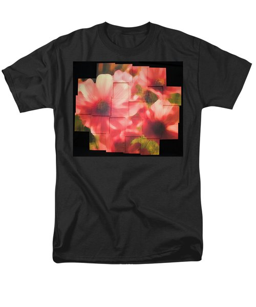 Nocturnal Pinks Photo Sculpture Men's T-Shirt  (Regular Fit) by Michael Bessler