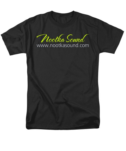 Nootka Sound Logo #6 Men's T-Shirt  (Regular Fit) by Nootka Sound