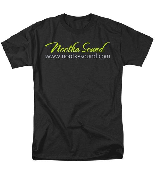 Nootka Sound Logo #6 Men's T-Shirt  (Regular Fit) by Nootka Sound