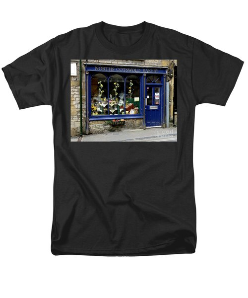 North Cotswold Bakery Men's T-Shirt  (Regular Fit) by Lainie Wrightson