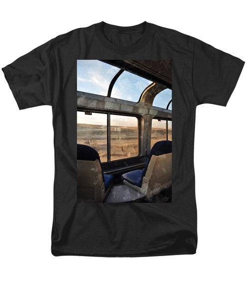 North Dakota Great Plains Observation Deck Men's T-Shirt  (Regular Fit) by Kyle Hanson