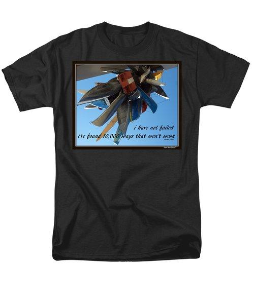 Not Failed Men's T-Shirt  (Regular Fit)