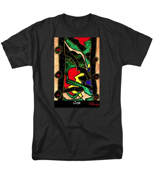 Men's T-Shirt  (Regular Fit) featuring the painting Oak by Clarity Artists