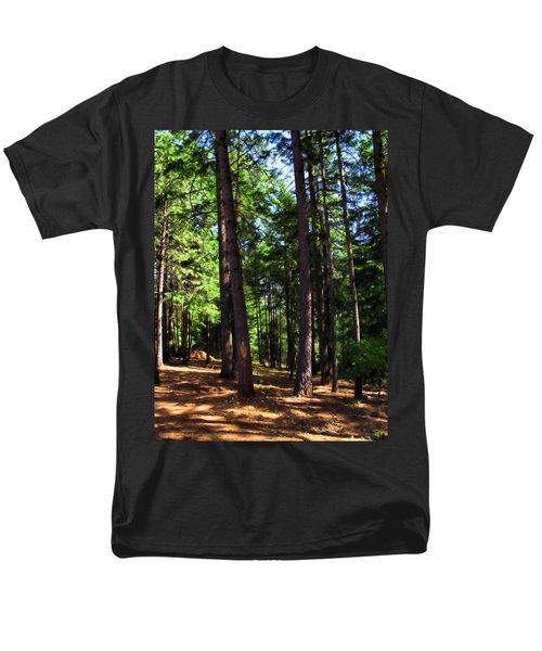 Oakrun Forest Men's T-Shirt  (Regular Fit) by Joyce Dickens