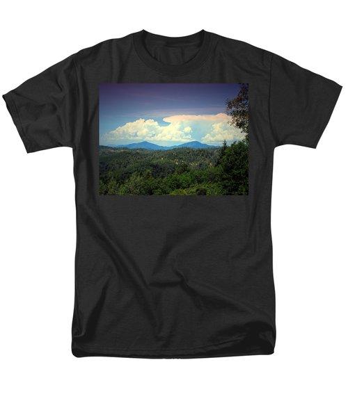 Oakrun Thunderstorm Men's T-Shirt  (Regular Fit) by Joyce Dickens