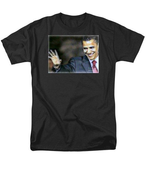 Obama Men's T-Shirt  (Regular Fit) by Wbk