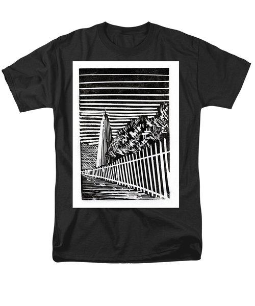 Ocracoke Island Lighthouse Men's T-Shirt  (Regular Fit) by Ryan Fox