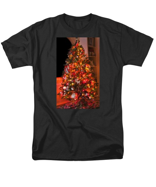 Men's T-Shirt  (Regular Fit) featuring the photograph Oh Christmas Tree by Joan Bertucci