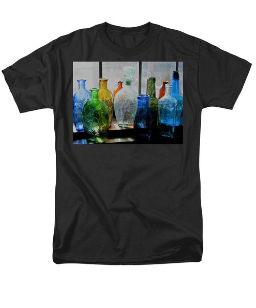 Men's T-Shirt  (Regular Fit) featuring the photograph Old Bottles by John Scates