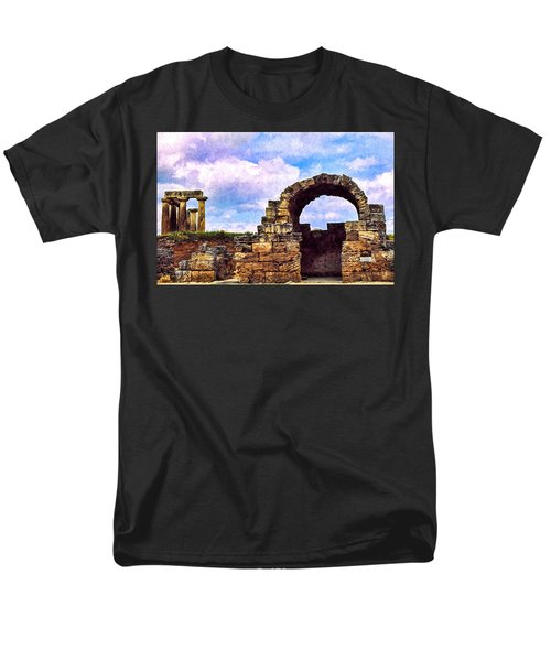 Men's T-Shirt  (Regular Fit) featuring the photograph Old Corinth Shop by Trey Foerster