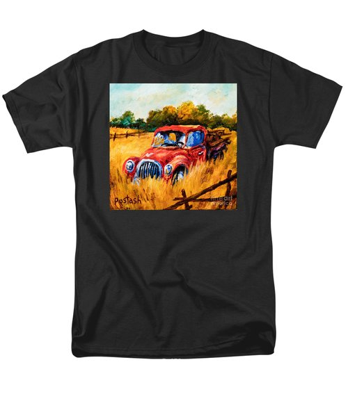 Men's T-Shirt  (Regular Fit) featuring the painting Old Friend by Igor Postash