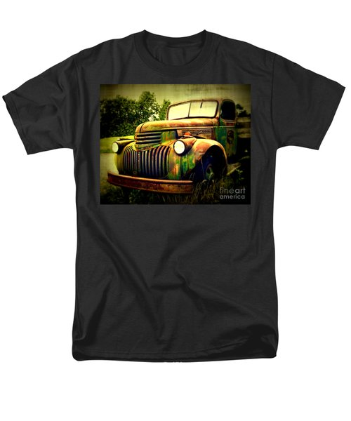 Old Flatbed 2 Men's T-Shirt  (Regular Fit) by Perry Webster