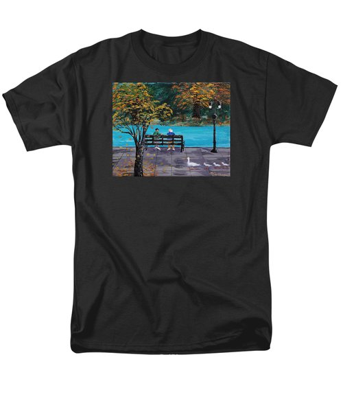 Old Friends Men's T-Shirt  (Regular Fit) by Mike Caitham