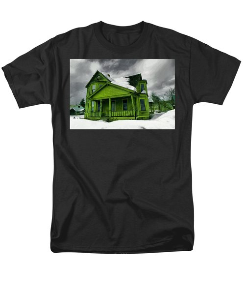Men's T-Shirt  (Regular Fit) featuring the photograph Old House In Roslyn Washington by Jeff Swan
