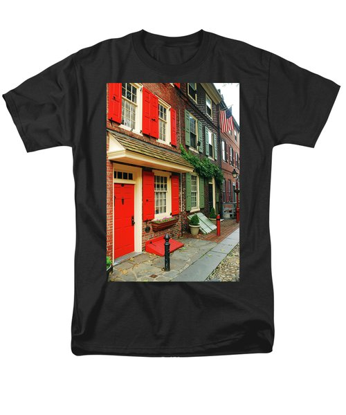 Old Philly Men's T-Shirt  (Regular Fit) by James Kirkikis