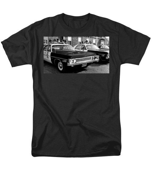 Old Police Car Men's T-Shirt  (Regular Fit) by Paul Seymour