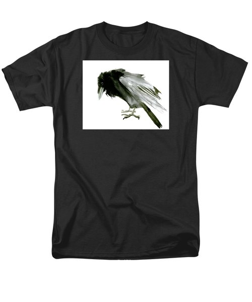Old Raven Men's T-Shirt  (Regular Fit) by Suren Nersisyan