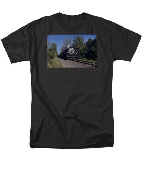 Men's T-Shirt  (Regular Fit) featuring the photograph Old Steamer 765 by Jim Lepard
