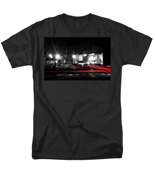 Old Town Helena At Night Men's T-Shirt  (Regular Fit) by Shelby  Young