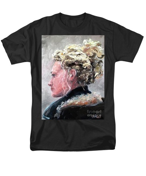 Men's T-Shirt  (Regular Fit) featuring the painting Olivia 2 by Diane Daigle
