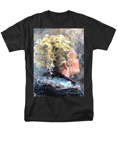 Men's T-Shirt  (Regular Fit) featuring the painting Olivia by Diane Daigle