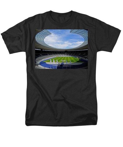 Olympic Stadium Berlin Men's T-Shirt  (Regular Fit) by Juergen Weiss