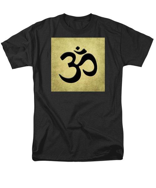 Om Gold Men's T-Shirt  (Regular Fit) by Kandy Hurley