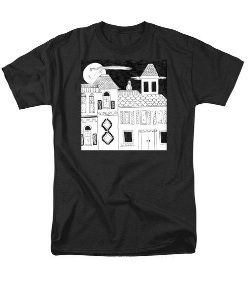 On Duty Men's T-Shirt  (Regular Fit) by Lou Belcher