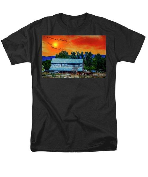 On The Farm II Men's T-Shirt  (Regular Fit) by Billie-Jo Miller