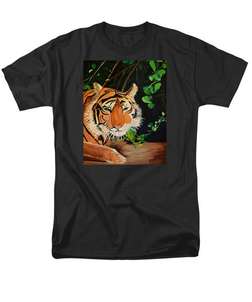 On The Prowl Men's T-Shirt  (Regular Fit) by Donna Blossom