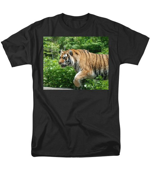 Men's T-Shirt  (Regular Fit) featuring the photograph On The Prowl by Richard Bryce and Family