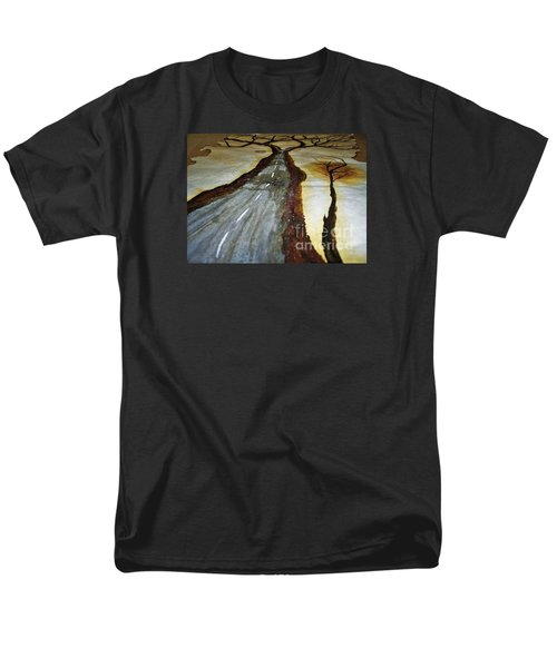On The Road Of The Tree Of Life Men's T-Shirt  (Regular Fit) by Talisa Hartley