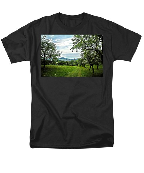 On The Way To Gramastetten ... Men's T-Shirt  (Regular Fit) by Juergen Weiss