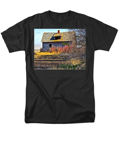 Men's T-Shirt  (Regular Fit) featuring the photograph Once A Lovely Home by Johanna Bruwer
