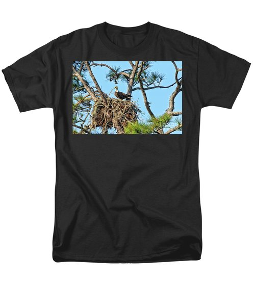 Men's T-Shirt  (Regular Fit) featuring the photograph One More Twig by Deborah Benoit