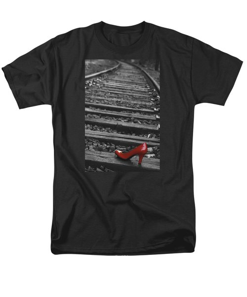 One Red Shoe Men's T-Shirt  (Regular Fit) by Patrice Zinck